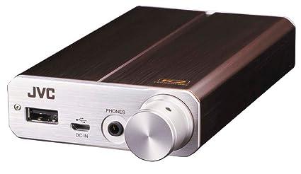 Amazon.com: JVC Kenwood Amplificador de auriculares portátil ...