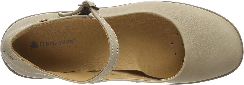 El Naturalista N5480 Soft Grain Curry//CALIZA Orange Damen Schuhe Schnalle