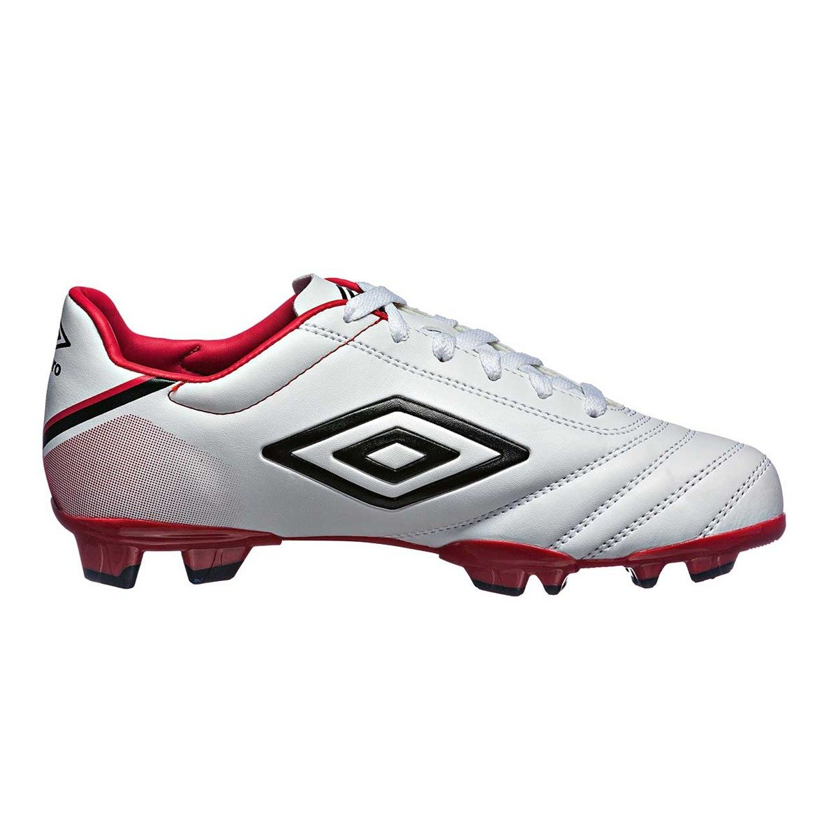 Umbro Jungen Classico V FG Football Pferdeschuhe, Orange/White/Black, Size UK3