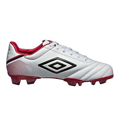 Umbro Jungen Classico V FG Football Pferdeschuhe, Orange/White/Black, Size UK13