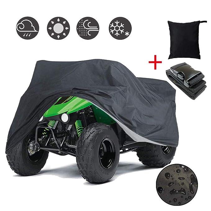 SHDlYE Funda para ATV Moto ATV Cubierta cuádruple 210D Oxford ...