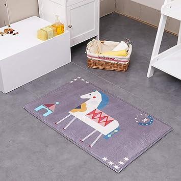 Amazon De Jayea Kinder Badezimmer Teppich Waschbar Weich