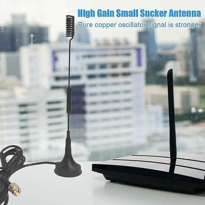 Antena inalámbrica 433Mhz Antena pequeña Ventosa para el ...