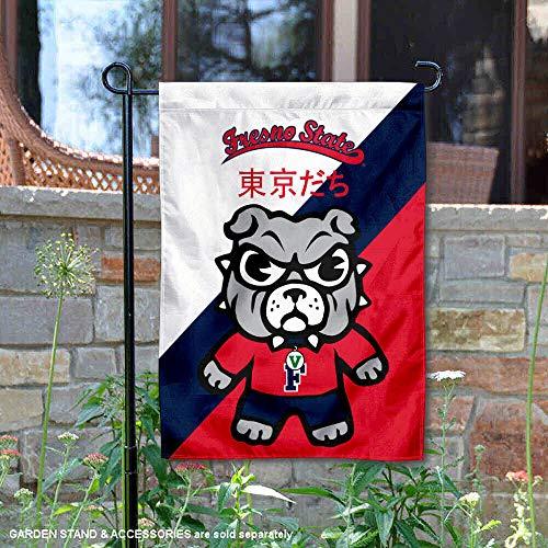 Sewing Concepts Fresno State Bulldogs Tokyodachi Garden Flag