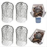 Kyпить Gutter Guard 3 Inch Expand Aluminum Filter Strainer. Stops Blockage Leaves Debris. Pack Of 4. By Massca (Aluminum 3 inch) на Amazon.com