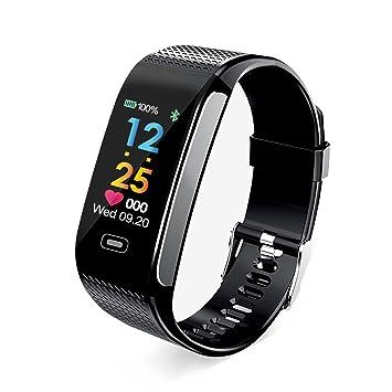 f37fa5004b リスネコ(Lisnec)スマートウォッチ 歩数計 スマートブレスレット 活動量計 心拍計 タッチ