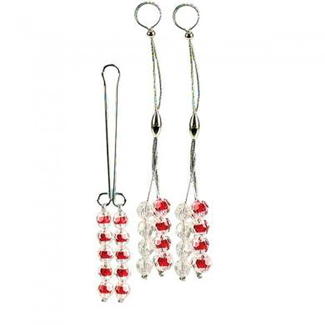 Nipple And Clitoral Body Jewelry - Ruby