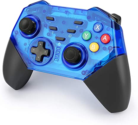 yidenguk Switch Pro Controller Wireless Game Controller Gamepad para Nintendo Switch, Windows PC, dispositivo Android: Amazon.es: Videojuegos