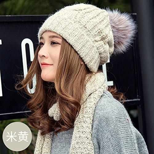 a22d2d3785e8e3 Amazon.com: Wuyulunbi@ Ladies Winter Hats Ear Cap Knitted Hat,D: Clothing