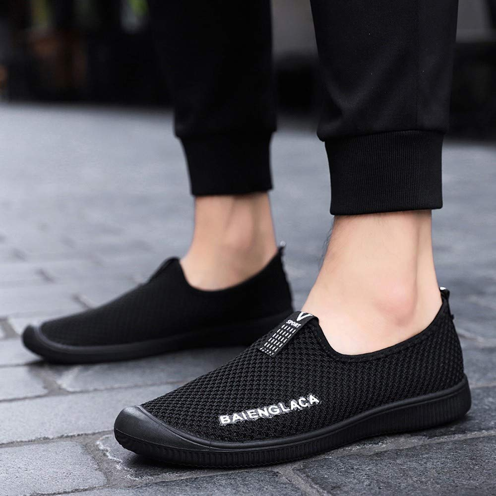 Amazon.com | Realdo Mens Soft Shoes Athletic Sport Breathable Flat Sneakers Running Shoes Casual Slip-on Shoes | Shoes