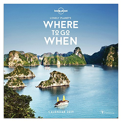 2019 Where to Go When by Lonely Planet Wall Calendar TF Publishing