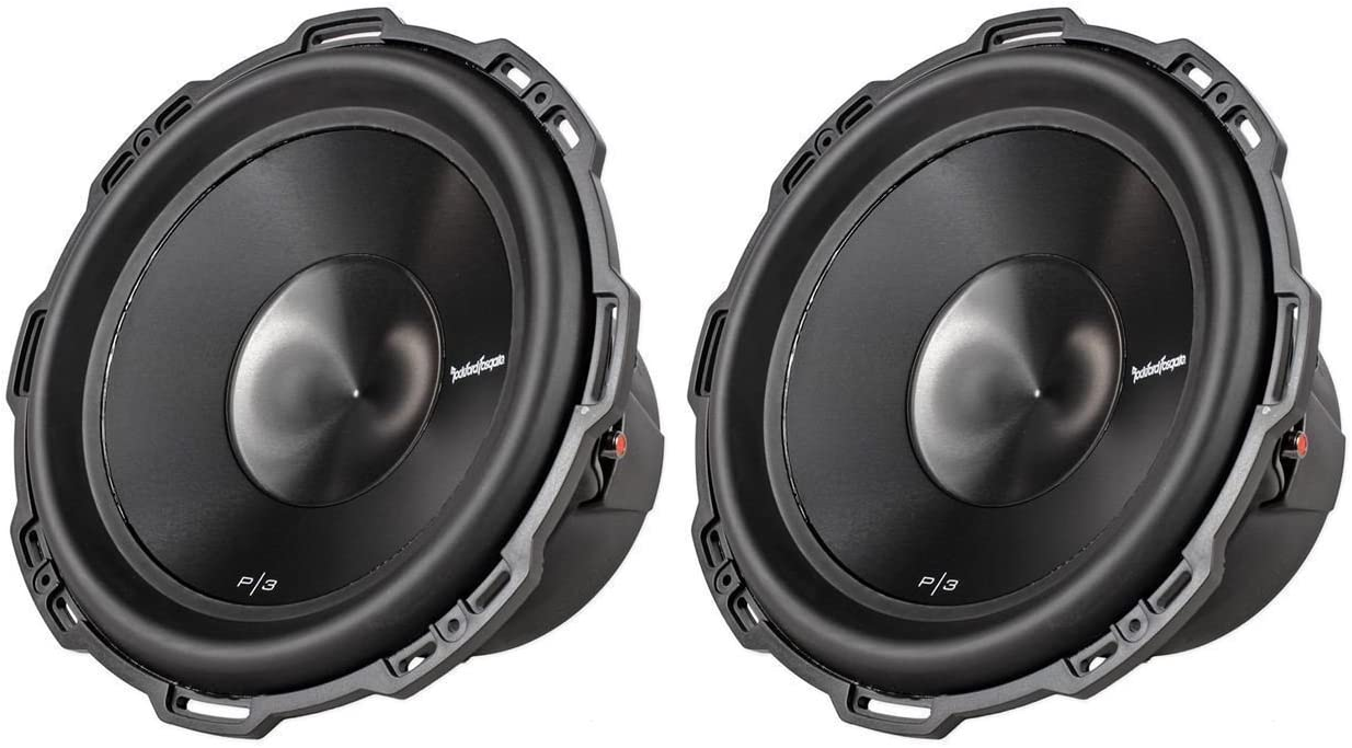 Rockford Fosgate (2) Punch P3D2-12 Most Expensive Car Subwoofers