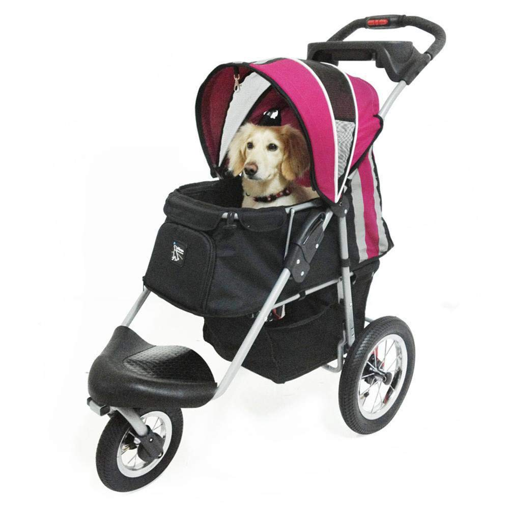 B Dixinla Pet StrollerBullet carts can be Washed and Washable Folding Dog carts