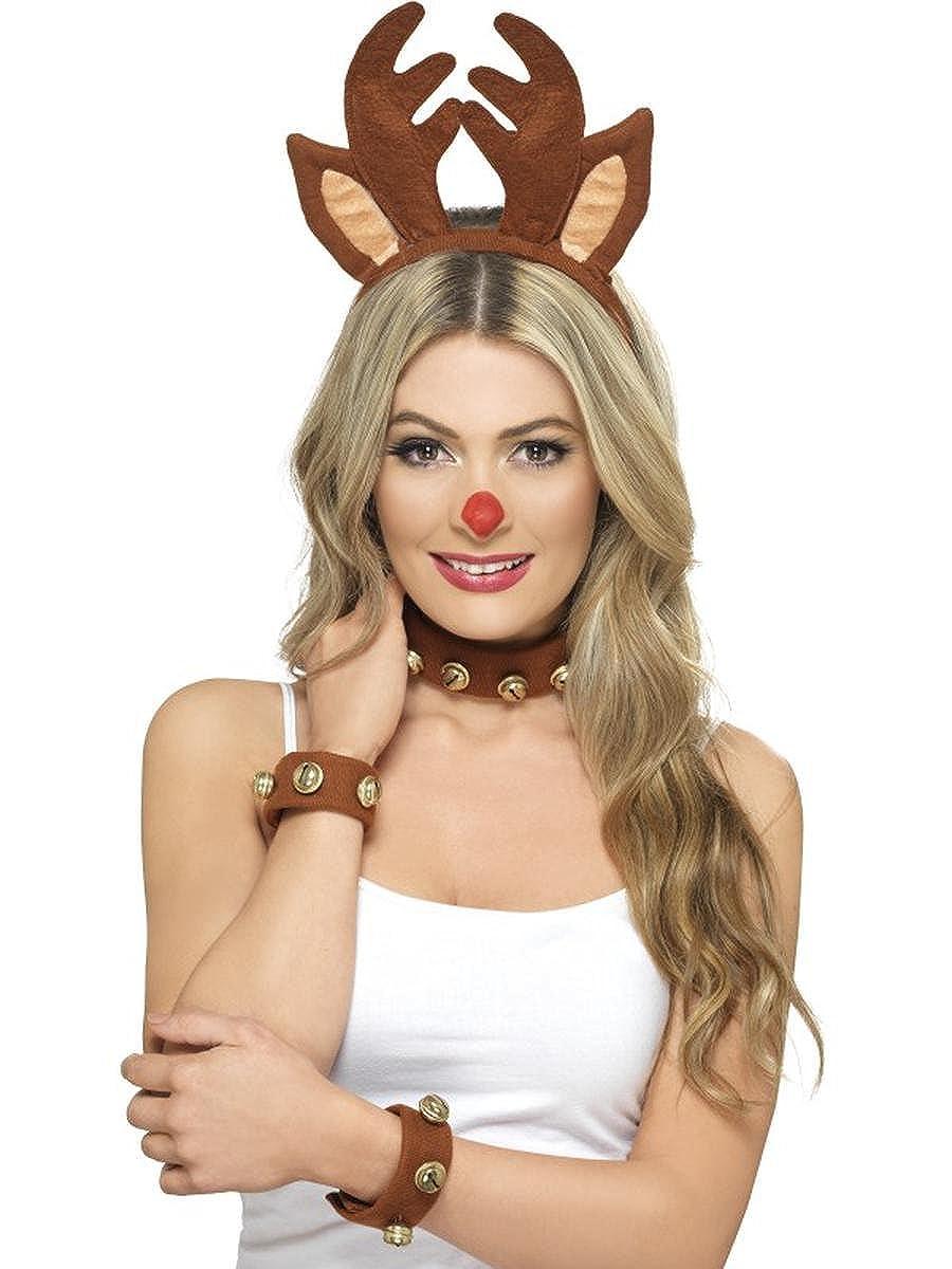 Amazon.com: Fest Threads Adult Women's Sexy Rudolph The ...