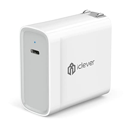 Amazon.com: iClever – 45 W USB Type C entrega de potencia ...
