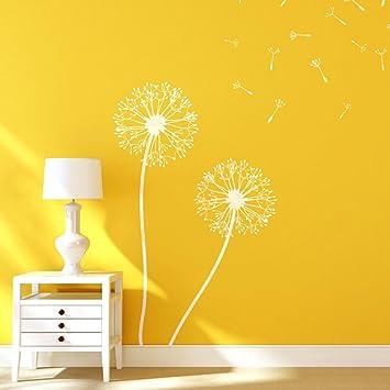 J BOUTIQUE plantillas de diente de león de flores plantillas para Wall art decor DIY como