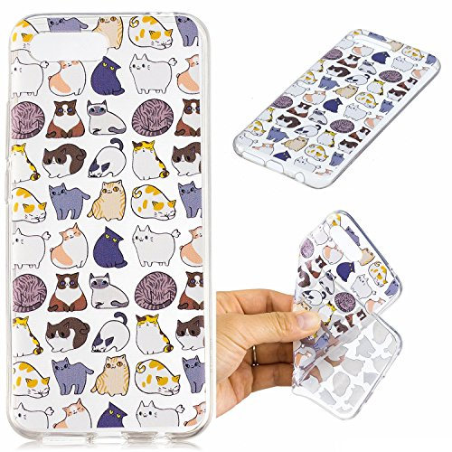 Housse Mini LOVE pour Anti Honor BONROY Series scratch Glow Luminous Huawei Coque Mince de Luminous Souple Ultra Bumper Case Silicone Protection Etui 10 Anti Cover YOU Transparente TPU Nuit chat Choc Coquille YqqxAwf