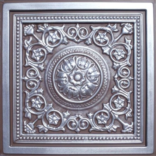 Majesty Antique Silver Chocolate Ceiling