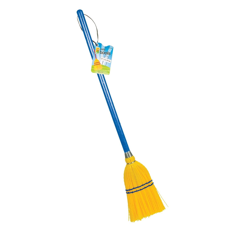 Toysmith Plastic Broom (29-Inch)