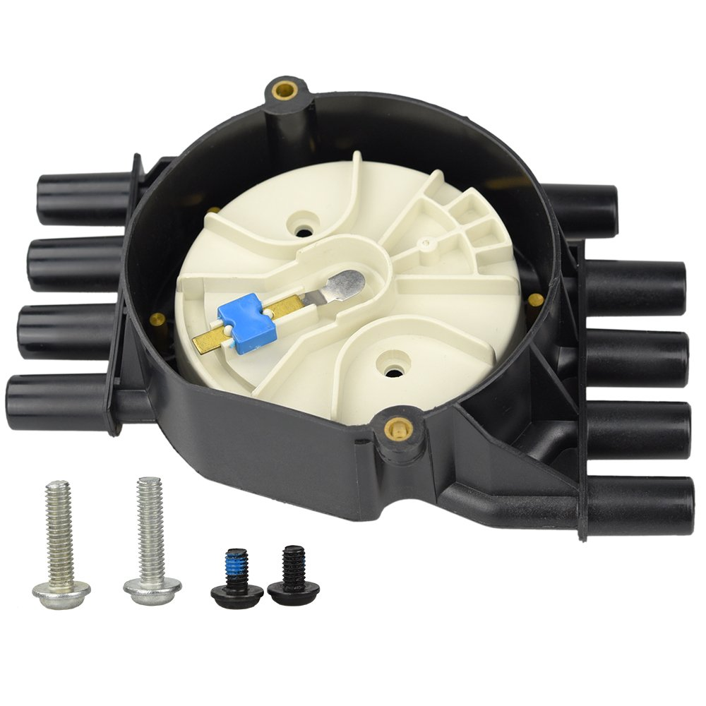 Ignition Distributor Cap Rotor Kit For Chevy GMC Suburban 2000-96 V8 5.0L 5.7L Brass Terminals