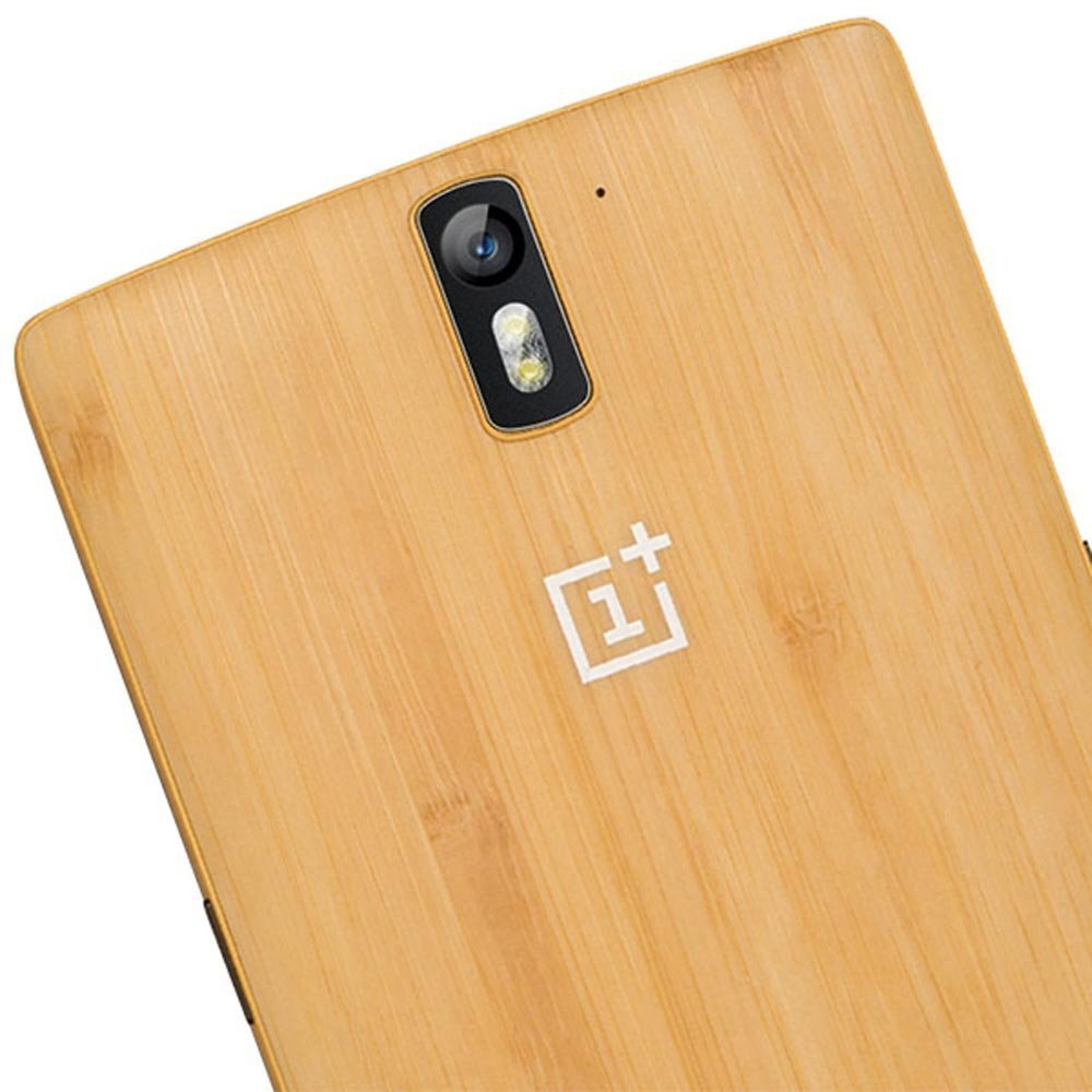 new arrival 74dfc 38060 Amazon.com: Whiteoak Oneplus One Bamboo StyleSwap Cover Case With ...