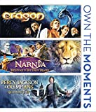 Percy Jackson lightning Thief & Eragon + Narnia Voyage of the Dawn Treader Set Amazing Fantasy Triple Feature