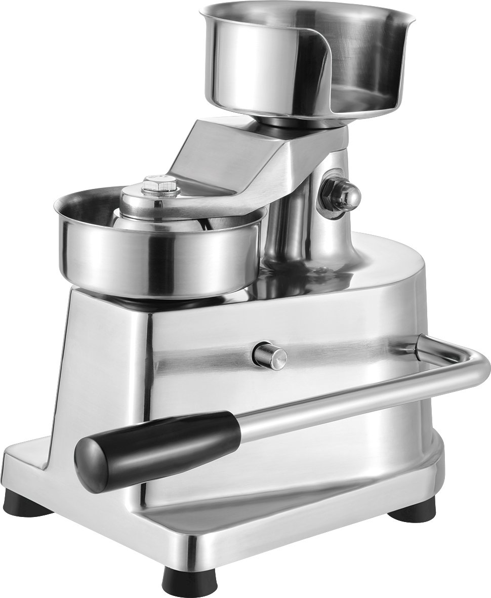 Deer Commercial Hamburger Press Makers 5 Makes up to 500 Hamburgers an Hour Hamburger Patty Molding Press for Maximum Durability (5Burger Press)