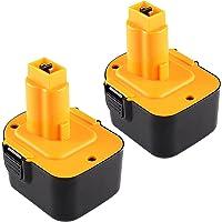 2X Reoben 12V 3.0Ah NIMH batería de herramienta