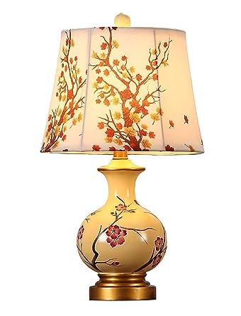 Lámpara de mesa comunidades de lujo retro resina cerámica el ...