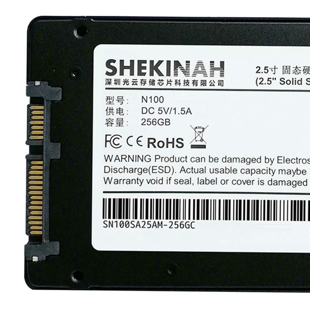 D DOLITY Disco SSD Digital SATA III de 256g Accesorios Fácil de ...