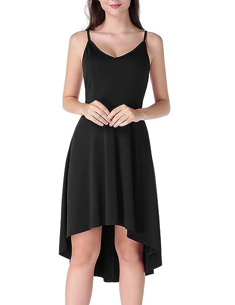 Amazon.com: CHICIRIS vestido sexy sin espalda, sin mangas ...