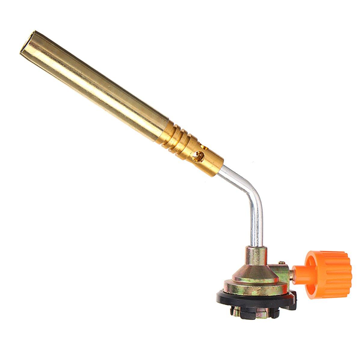 ChaRLes Allumage Extérieur Butane Gaz Torche Soudage Bbq Briquet Brûleur Flamme Pistolet Camping Soudage Torche