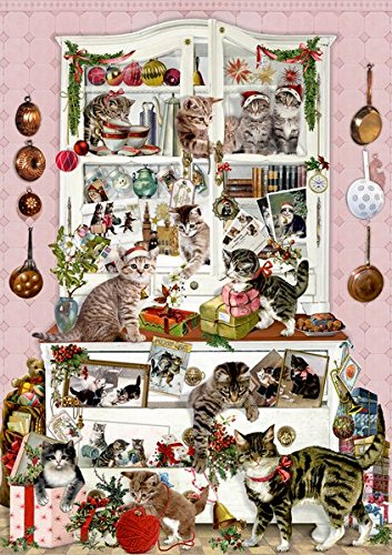 Wand-Adventskalender - Katzen im Advent Coppenrath