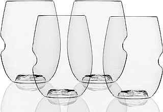 product image for Govino Go Anywhere Flexible Shatterproof Wine Glasses, 16-ounces (Set of 72)