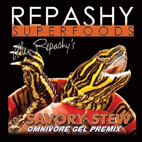 Repashy Savory Stew Omnivorous Gel Food 3 oz. JAR - Great for Turtles, Tortoises And Skinks Repashy Superfoods