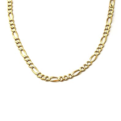 Vintage 14k Yellow Gold Chain Link Necklace 585 A Great Variety Of Models Precious Metal Without Stones