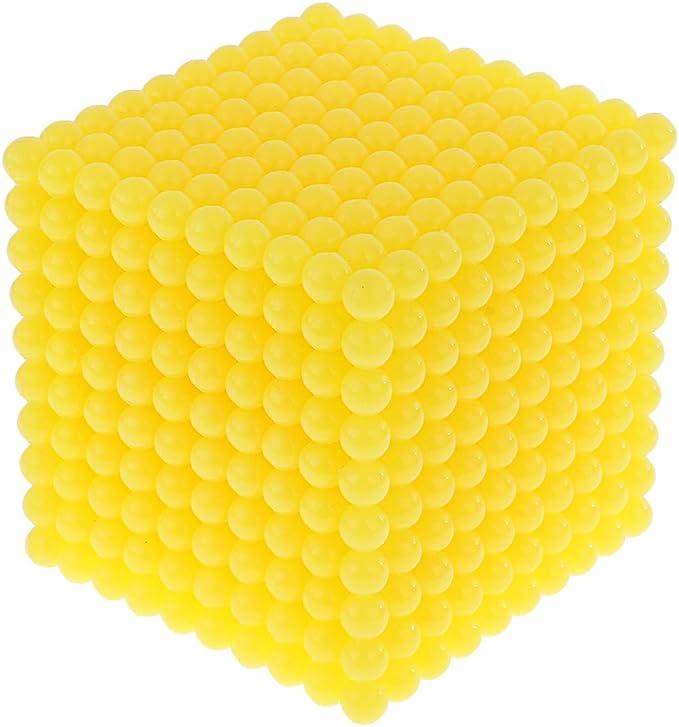 MagiDeal Montessori Mat/ériel Math/ématiques Mille Perles Cube Jouet de Calcul Jouet P/édagogique pour Enfants