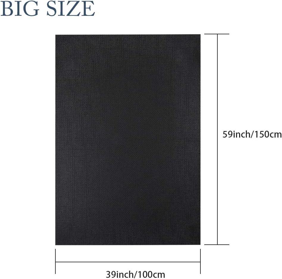 Pllieay tela de punto de cruz blanca de 14 hilos tama/ño grande 150 x 99 cm