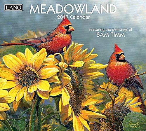 Lang 2017 Meadowland Wall Calendar, 13.375 x 24 inches (17991001931)