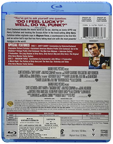 Buy dirty harry blu