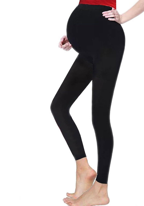 Rimi Hanger Womens Full Length Maternity Pregnancy Cotton Leggings US 4-16