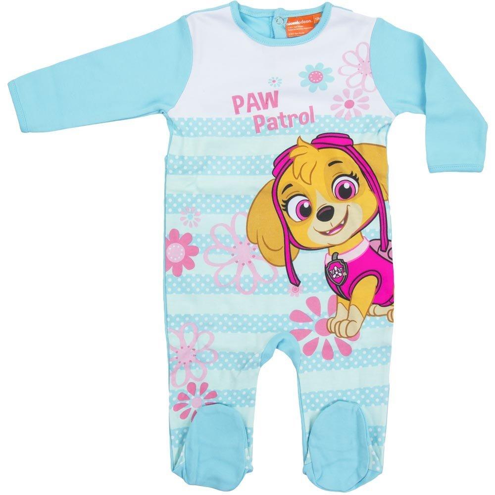 5386 S/ü/ßer Kinder Baby Schlafanzug Strampler Einteiler Overall PAW Patrol Skye Schlafstrampler