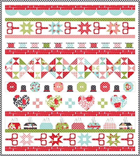 - Little Snippets Quilt Day Quilt KIt by Bonnie & Camille for Moda Fabrics