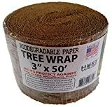 "HORT Paper Tree Wrap 3"" x 50' roll, Commercial Grade"