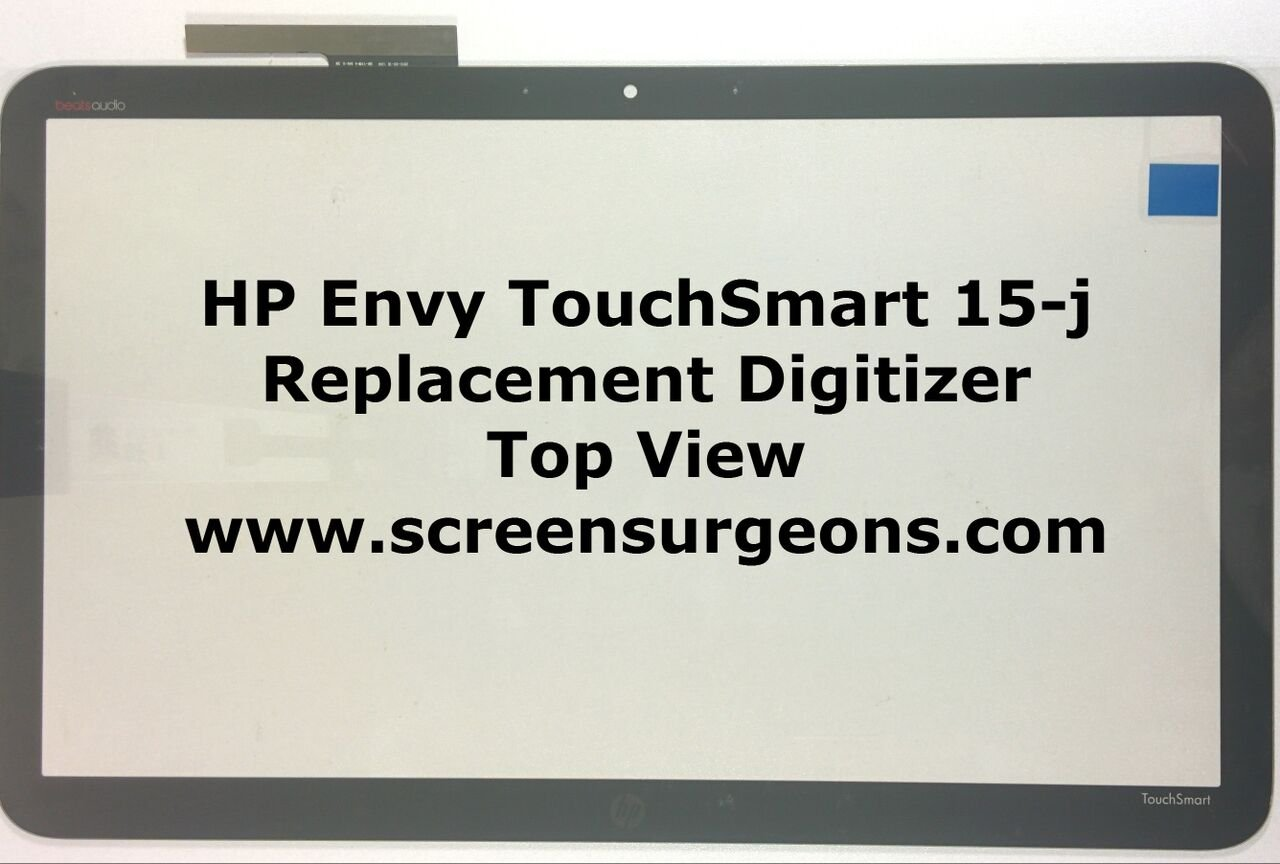 HP Envy TouchSmart 15-J Series Digitizer Replacement