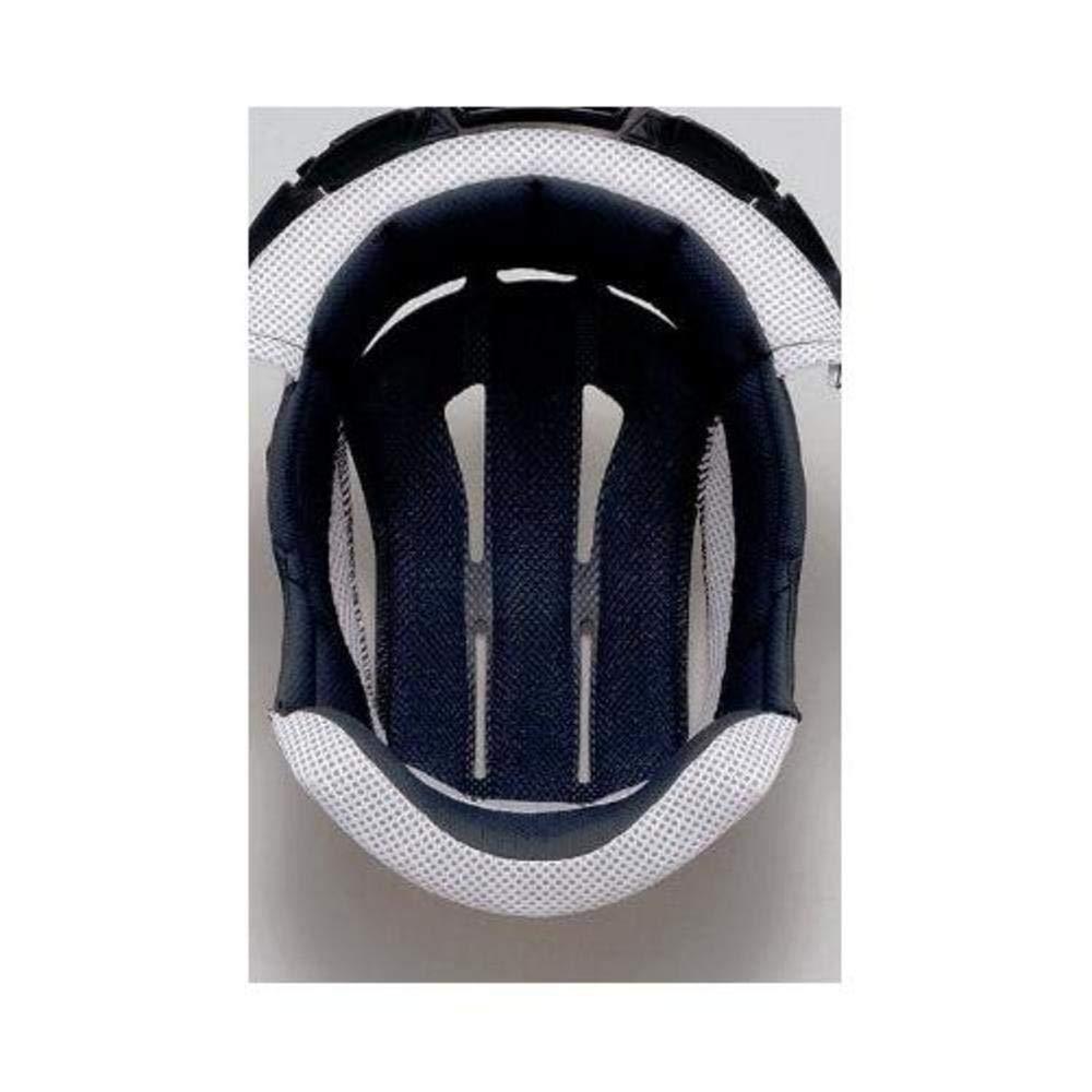 Shoei Hornet/VFX-DT Center Pad Off-Road Motorcycle Helmet Accessories - Black/Large 01-8104