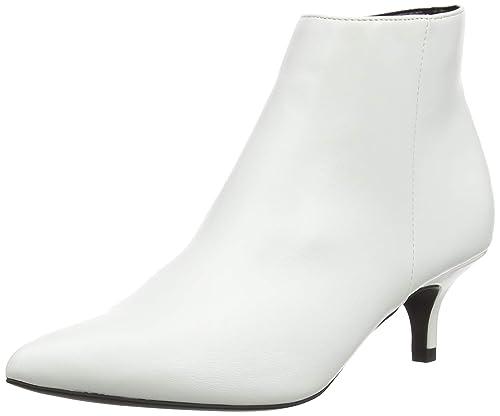 New Look Dart, Botines para Mujer, Blanco (White 10), 42 EU: Amazon.es: Zapatos y complementos