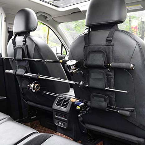 Details about  /Car Fishing Rod Rack Holder Strap Storage Vehicle Rest Belt Carrier Fishing Gear