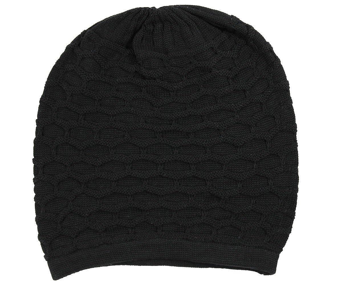 2596f8cd RW Rasta 100% Cotton Dreadlock Beanie (Black) at Amazon Men's Clothing  store: