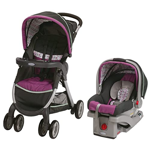 Graco Fastaction Fold Click Connect Travel System Stroller Nyssa
